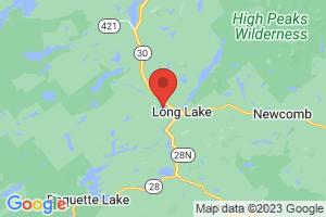 Map of Lake Eaton
