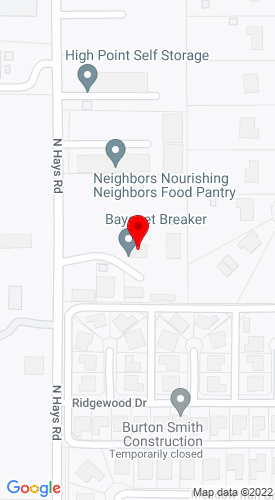 Google Map of Rees Rental Equipment 430 Hays Road, Prosper, TX, 75078