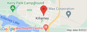 Google Map of 430+Broadway+Ave%2CKillarney%2CManitoba+R0K+1G0