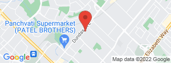 Google Map of 430+Hensall+Circle%2CMississauga%2COntario+L5A+1X7