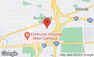 Map of 430 East Harrison Street ELMHURST, IL 60126
