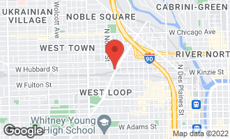 Map of 430 North Ogden Avenue Chicago, IL 60642
