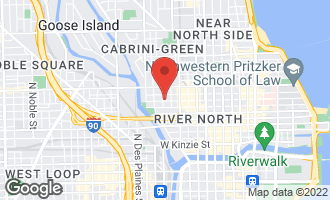 Map of 430 West Huron Street CHICAGO, IL 60654