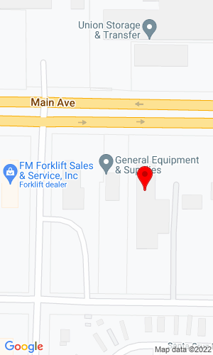 Google Map of 4300 Main Avenue+Fargo+ND+58103