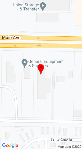Google Map of General Equipment & Supplies Inc. 4300 Main Avenue, Fargo, ND, 58103