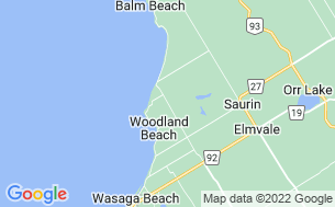 Map of Wasaga Dunes RV Resort - Parkbridge