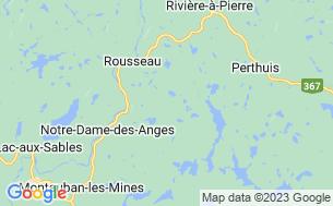 Map of Domaine Du Lac Galette