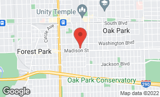 Map of 431 South Kenilworth Avenue 2N OAK PARK, IL 60302