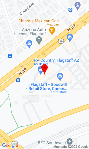 Google Map of Flagstaff Service Center, Inc. 4316 N Highway 89, Flagstaff, AZ, 86004