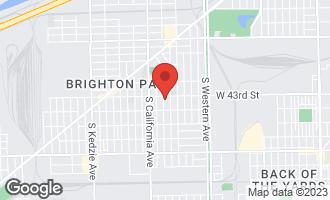 Map of 4317 South Washtenaw Avenue CHICAGO, IL 60632