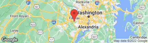 Map of 4321 EXCELSIOR PLACE FAIRFAX, VA 22030