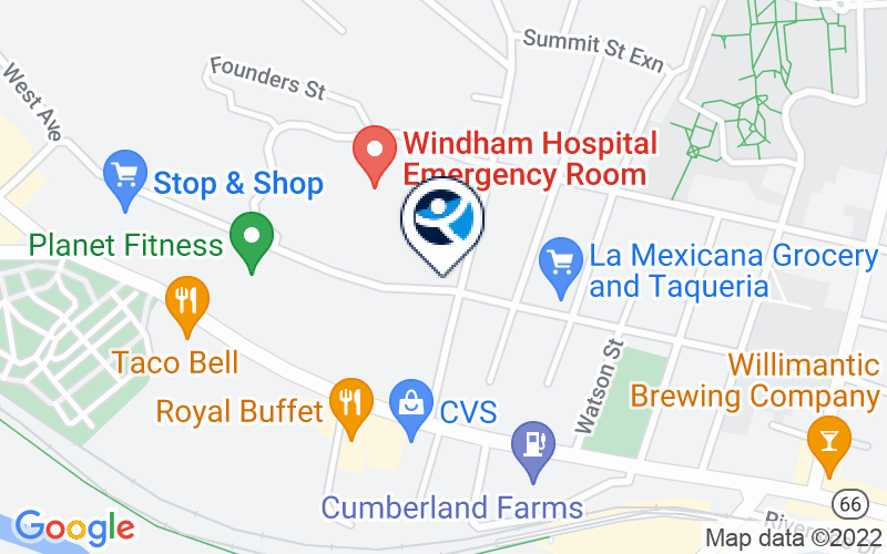 CHR - Willimantic Clinic Location and Directions