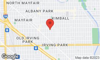 Map of 4330 North Ridgeway Avenue #1 CHICAGO, IL 60618