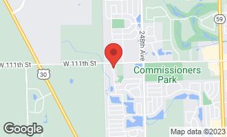 Map of 4336 Littleleaf Drive NAPERVILLE, IL 60564