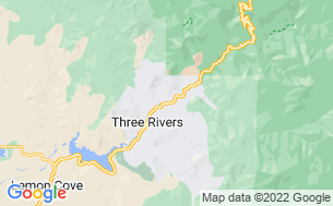Map of Three Rivers Hideaway