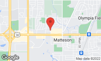 Map of 4340 Lincoln Highway MATTESON, IL 60443