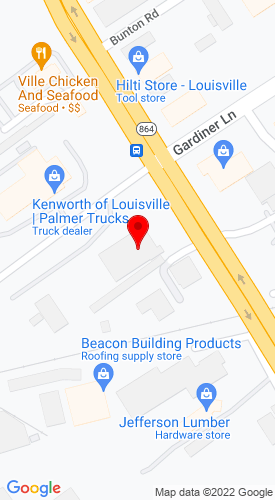 Google Map of Rudd Equipment Company 4344 Poplar Level Road, Louisville, KY, 40213