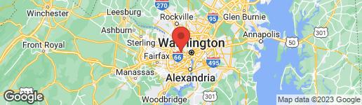 Map of 4345 26TH STREET N ARLINGTON, VA 22207