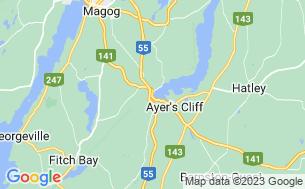Map of Camping Du Lac Massawippi Ltée