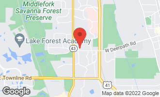 Map of 435 King Muir Road LAKE FOREST, IL 60045