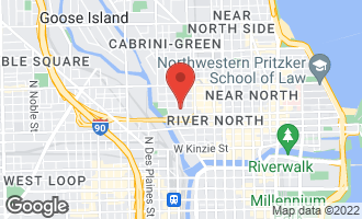 Map of 435 West Erie Street #708 CHICAGO, IL 60654