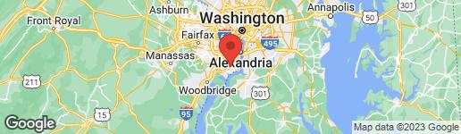 Map of 4350 PEMBROOK VILLAGE DRIVE #55 ALEXANDRIA, VA 22309