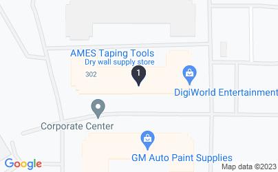 Google Map of 4351 Corporate Center Dr, Las Vegas, NV 89115, USA