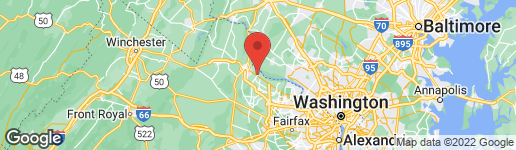 Map of 43537 MICHIGAN SQUARE LEESBURG, VA 20176