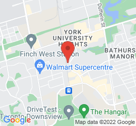 Google Map of 4362+Chesswood+Drive%2CToronto%2COntario+M3J+2B9