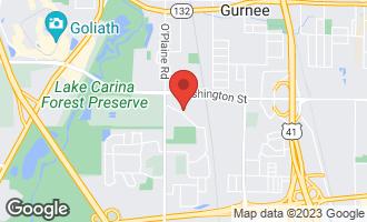 Map of 4366 Elm Road GURNEE, IL 60031