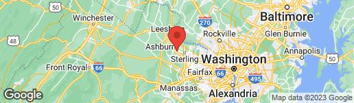 Map of 43664 SAINT HELENA TERRACE ASHBURN, VA 20147