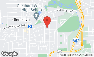 Map of 437 Carleton Avenue GLEN ELLYN, IL 60137