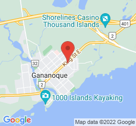 Google Map of 439+King+Street+East%2CGananoque%2COntario+K7G+1G9
