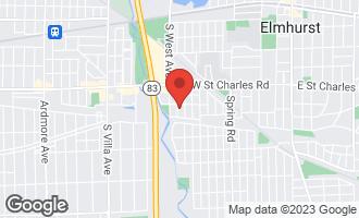 Map of 439 South Rex Boulevard ELMHURST, IL 60126