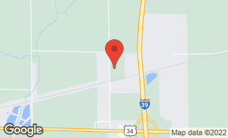 Map of 4390 East 5th Road MENDOTA, IL 61342