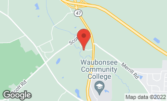 Map of 43W485 Thornapple Tree Road SUGAR GROVE, IL 60554