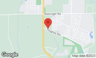 Map of 43W860 Hughes Road ELBURN, IL 60119