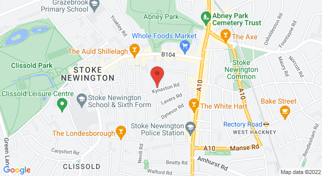 44 Kynaston Road, Stoke Newington, London, N16 0EU