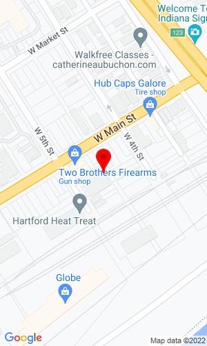 Google Map of Competition Equipment 44 West 5th St, New Albany, IN, 47150