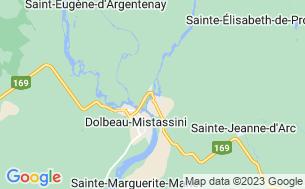 Map of Camping Des Chutes