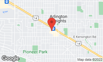 Map of 44 North Vail Avenue #208 ARLINGTON HEIGHTS, IL 60005