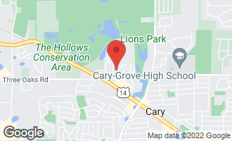 Map of 44 Oak Valley Drive CARY, IL 60013