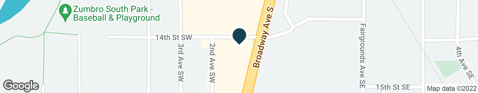 Google Map of80 14TH ST SW