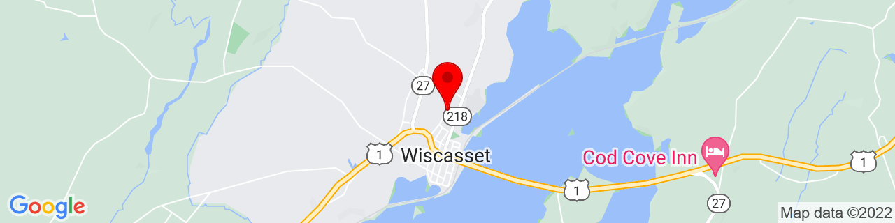 Google Map of 44.0068271, -69.6653288