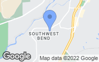 Map of Bend, OR