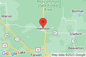 Map of Harrison