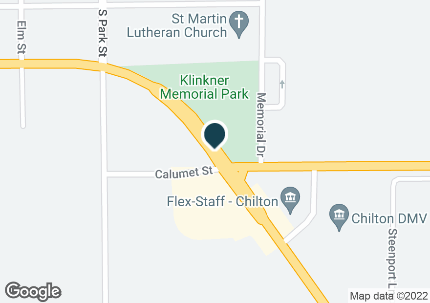 Google Map of245 W CALUMET ST