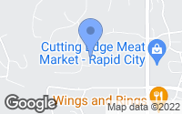 Map of Rapid City, SD