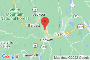 Map of North Conway