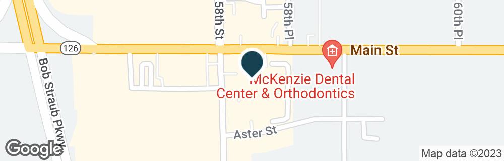 Google Map of5807 MAIN ST